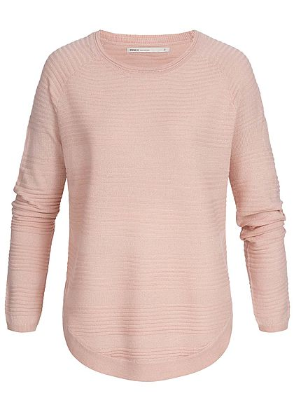 new product 3f2fb 90968 ONLY Damen Sweater Pullover NOOS misty rosa