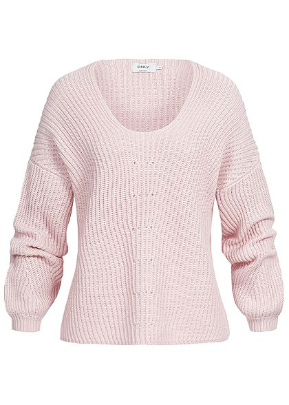 ONLY Damen Strickpullover blushing bride rosa