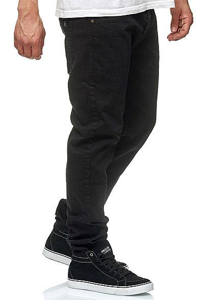 Hailys Men Regular Fit Jeans Hose 5-Pockets schwarz denim