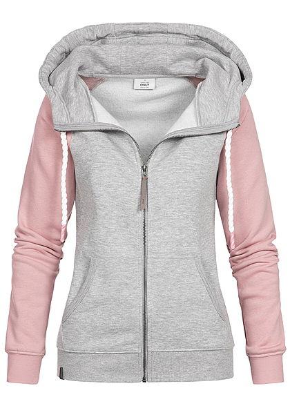 Sweatjacke Damen Kapuzenjacke kaufen - 77onlineshop b99b5c7505