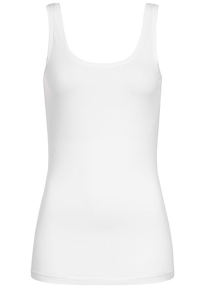 JDY by ONLY Damen Basic Tank Top NOOS cloud dancer weiss