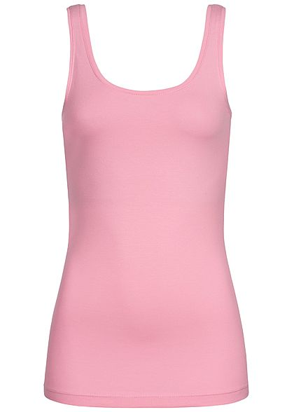 JDY by ONLY Damen Basic Tank Top NOOS rosebloom rosa