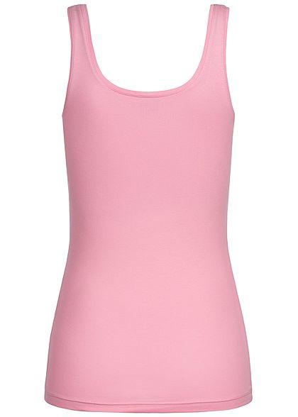 JDY by ONLY Damen Basic Tank Top NOOS rosebloom rosa