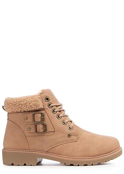 c3e39a0ec84ec6 Seventyseven Lifestyle Damen Schuh Stiefelette Worker Boots ...