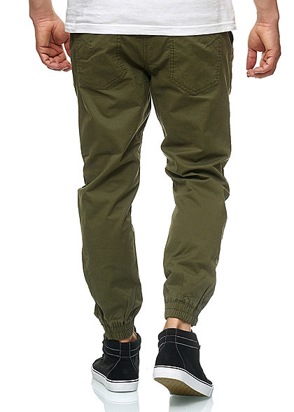 Jack and Jones Herren Hose Sweat Pants 4-Pockets NOOS night olive