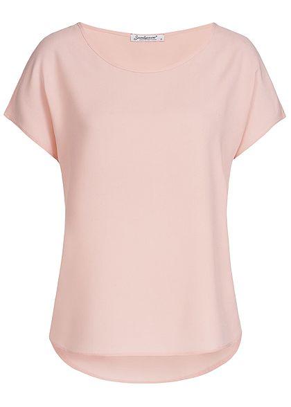 5e5419d73c3114 Seventyseven Lifestyle Damen Blusen Shirt rosa - 77onlineshop