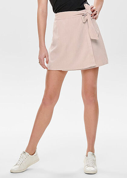 ONLY Damen Wrapped Cord Skirt Belt misty rosa