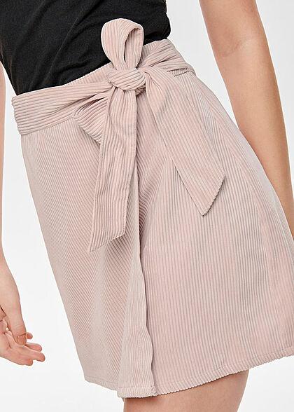 ONLY Damen Wrapped Cord Skirt Belt misty rosa