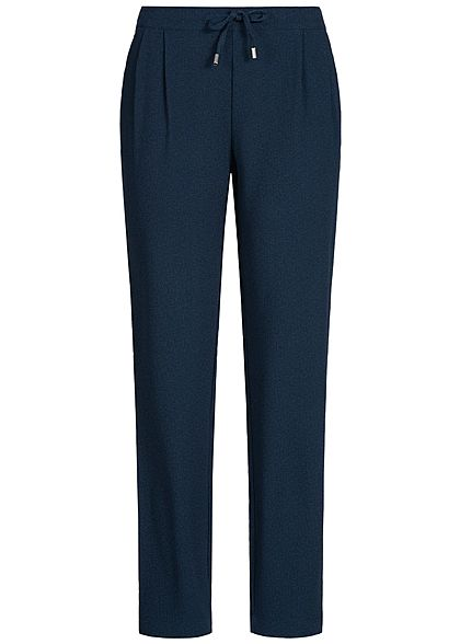 JDY by ONLY Damen Stoff Hose 2 Taschen sky captain blau