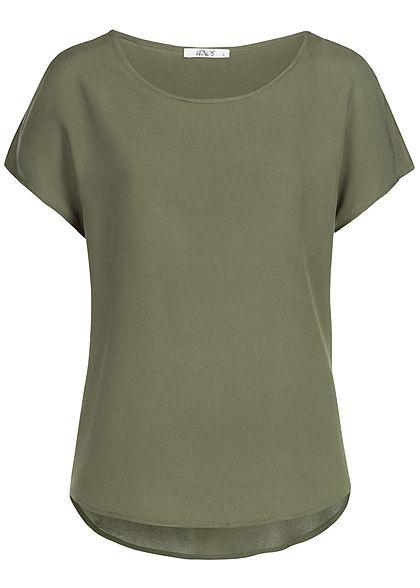 de74fb83122e60 Hailys Damen Blouse Shirt khaki - 77onlineshop