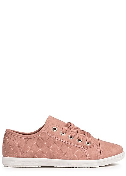 Seventyseven Lifestyle Damen Sneaker Stitches old rose
