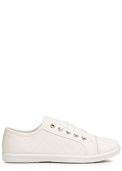 Seventyseven Lifestyle Damen Sneaker Stitches weiss