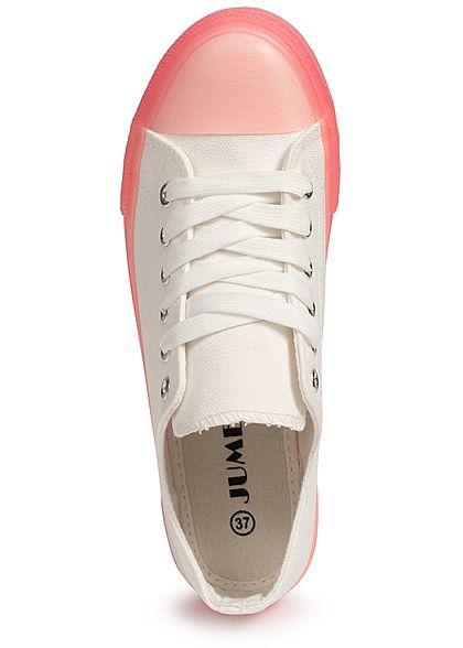 Seventyseven Lifestyle Damen Shoes Canvas-Sneaker pink weiss