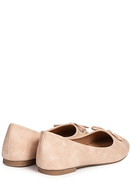 Seventyseven Lifestyle Damen Bow Flat Shoes rosa
