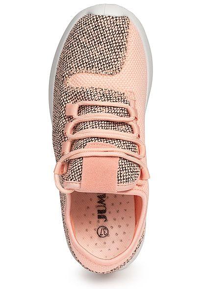 Seventyseven Lifestyle Damen Running Sneaker rosa schwarz
