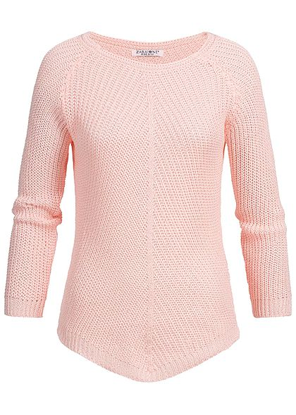 Zabaione Damen Knit Sweater rosa