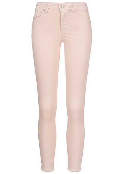 e8c60ad69eb6 ONLY Damen Ankle Skinny Jeans 5-Pockets NOOS peach whip rosa