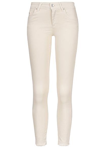 ce9e24f02b29 ONLY Damen Ankle Skinny Jeans 5-Pockets NOOS egret beige