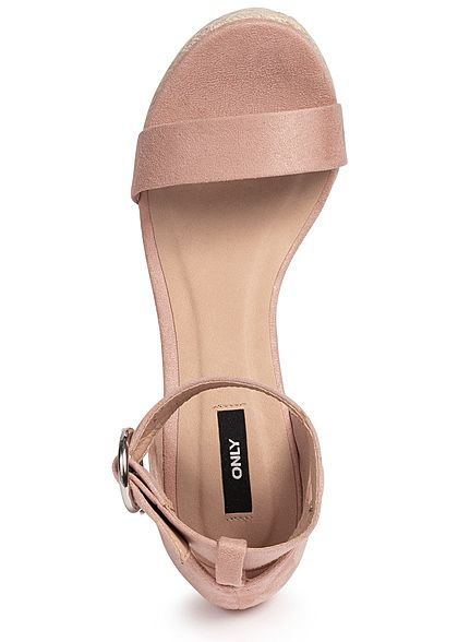 ONLY Damen Wedges Sandals rosa