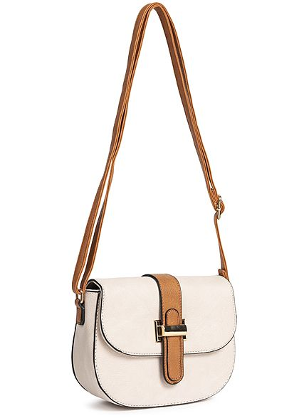 Styleboom Fashion Damen Cross Body Bag beige braun