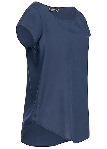 Eight2Nine Damen Blouse Shirt navy dunkel blau