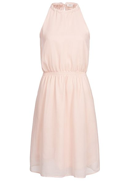 JDY by ONLY Damen 2-Layer Choker Dress smoke rosa