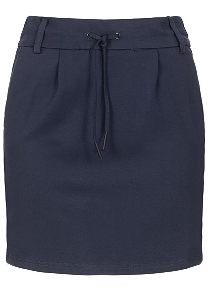 ONLY Damen Poptrash Skirt 2-Pockets NOOS night sky blau