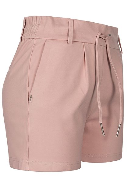ONLY Damen Poptrash Shorts 4-Pockets NOOS pale mauve rosa