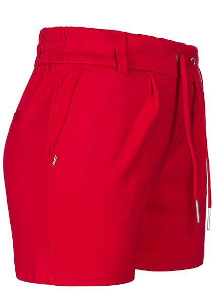 ONLY Damen Poptrash Shorts 4-Pockets NOOS tango rot