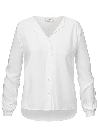 JDY by ONLY Damen Blouse cloud dancer weiss