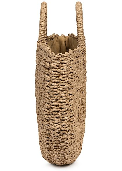 Hailys Damen Basket Handheld Bag braun