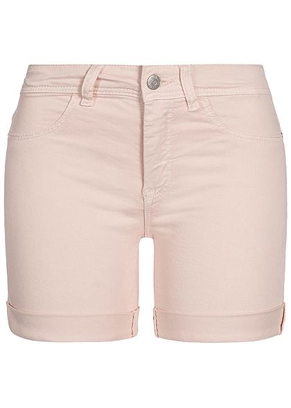 JDY by ONLY Damen Jeans Shorts 2-Pockets shell rosa denim