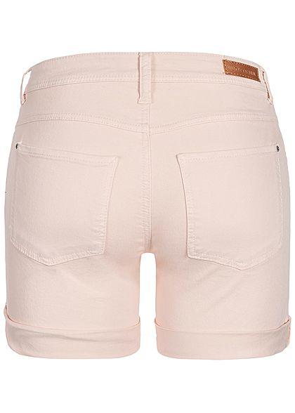JDY by ONLY Damen Jeans Shorts 2-Pockets shell rosa denim