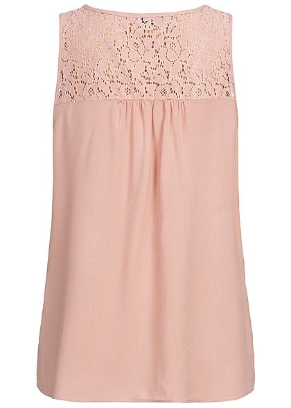 Seventyseven Lifestyle Damen Lace Top rosa