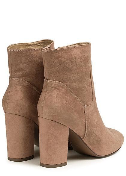 Seventyseven Lifestyle Damen Block Heel Boots rosa