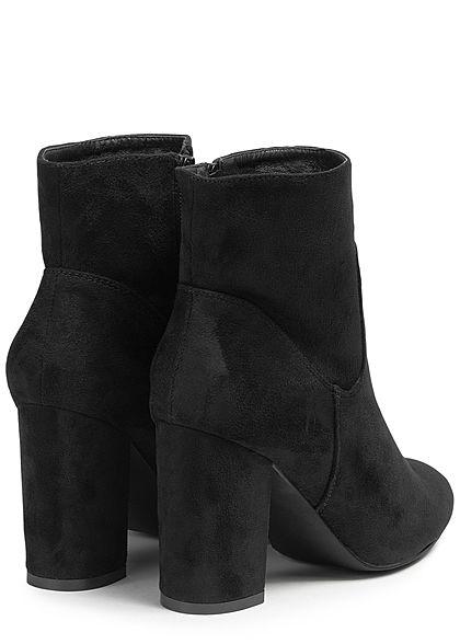 Seventyseven Lifestyle Damen Block Heel Boots schwarz