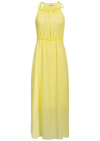 Hailys Damen Maxi Dress 2-Layer gelb