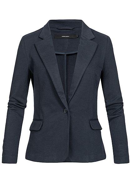 fa147611e2 Vero Moda Damen Denim Blazer 2-Pockets NOOS total eclipse blau