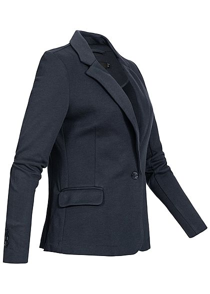 Vero Moda Damen Denim Blazer 2-Pockets NOOS total eclipse blau