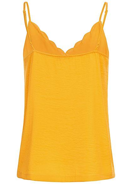 ONLY Damen Adjustable Strap Top NOOS mango gelb