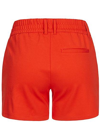 JDY by ONLY Damen Jersey Shorts 2-Pockets NOOS fiery rot