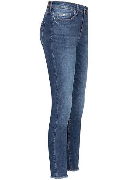 JDY by ONLY Damen Ankle Skinny Jeans 5-Pockets High-Waist medium blau denim