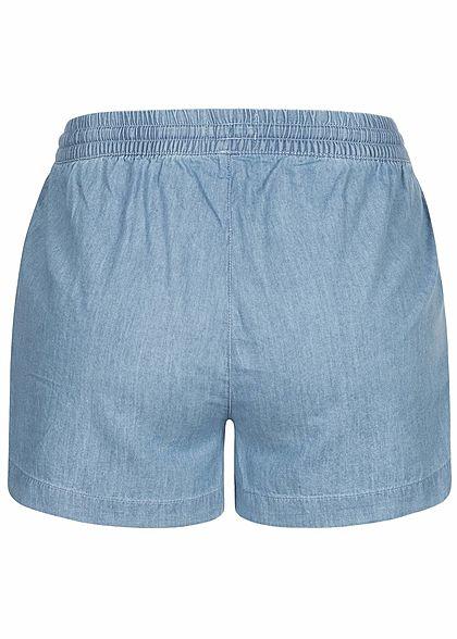 ONLY Damen Denim Shorts 2-Pockets hell blau