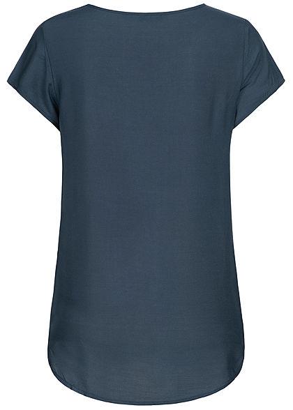 Vero Moda Damen Blouse Shirt NOOS navy blau