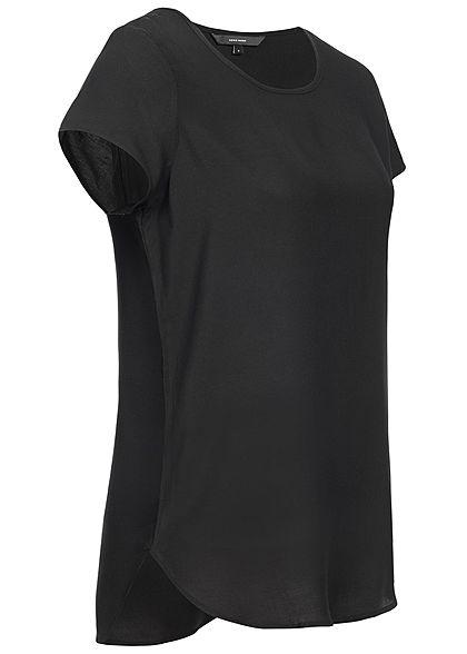 Vero Moda Damen Blouse Shirt NOOS schwarz