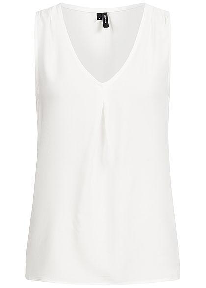 7e0d4d841c Vero Moda Damen Oversized Blouse Top NOOS snow weiss - 77onlineshop