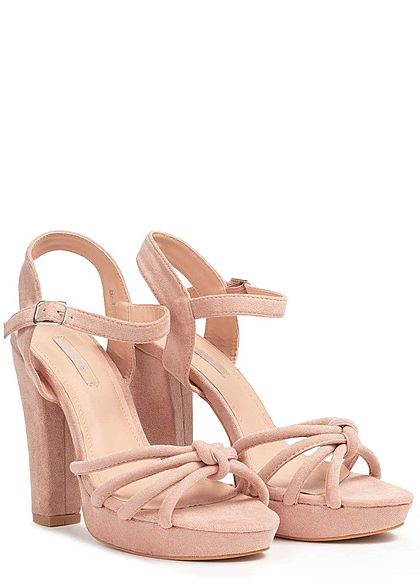Seventyseven Lifestyle Damen Strap Plateau Sandals rosa