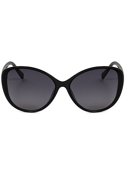 Seventyseven Lifestyle Damen Oval Sunglasses UV400 Protection schwarz
