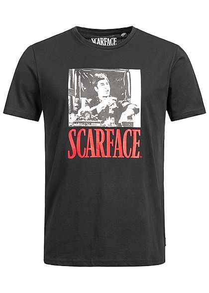 ONLY & SONS Mens T-Shirt Scarface Print schwarz