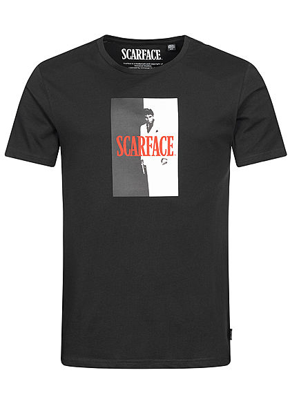 ONLY & SONS Mens T-Shirt Scarface Print schwarz - Art.-Nr.: 19041601